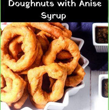 Picaones - Peruvian Pumpkin & Sweet Potato Doughnuts with Anise Syrup recipe