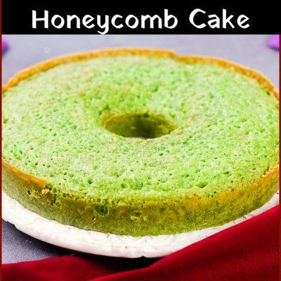 Banh Bo Nuang – Vietnamese Honeycomb Cake