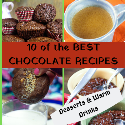 10 Best Chocolate Recipes – #Choctoberfest
