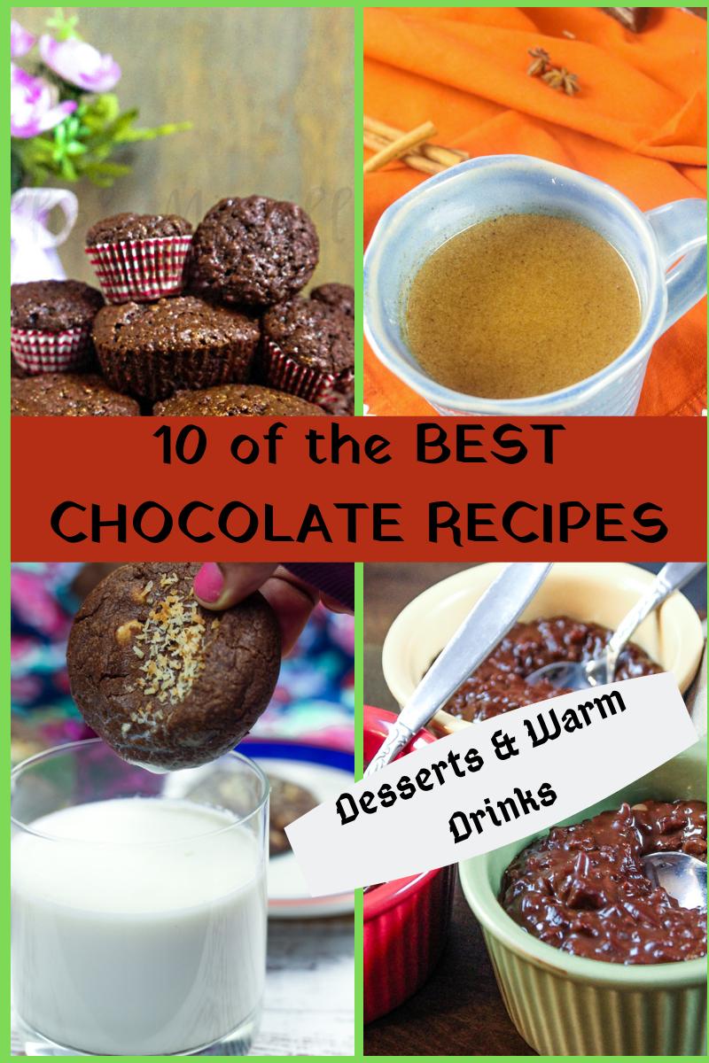 10 BEST CHOCOLATE RECIPES - #CHOCTOBERFEST