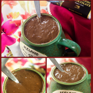 Icelandic Chocolate Porridge - #choctoberfest