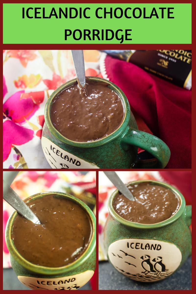 Icelandic Chocolate Porridge - #choctoberfest
