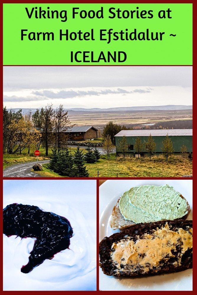 Viking Food Stories in Iceland at Farm Hotel Efstidalur II