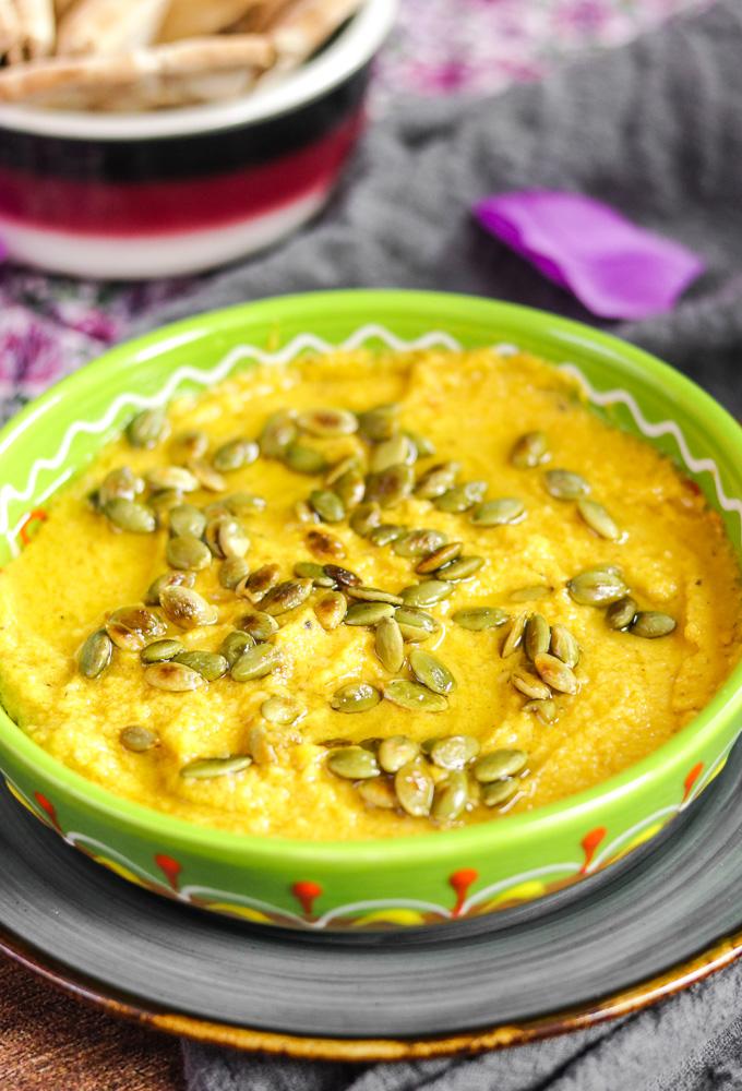 Za'atar Pumpkin Hummus