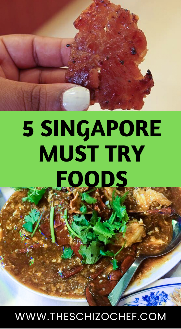 Singapore Travel - 5 Must Eat Food in Singapore - 24 Hour Guide - THESE ARE THE 5 FOODS YOU HAVE TO TRY IN SINGAPORE #TRAVEL #SINGAPORE #TRAVELTIPS #FOODANDTRAVEL #TRIPPLANNING