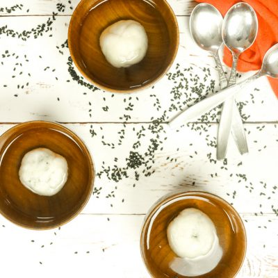 Tang Yuan – Black Sesame Sweet Rice Balls