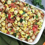 Italian Chicken Farro Salad