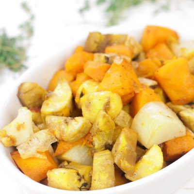 Ground Provision – Caribbean Root Vegetable Roast