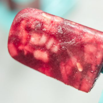 Watermelon Sangria Popsicles