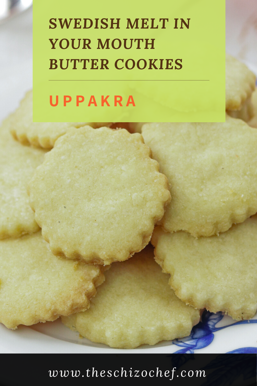 Uppakra - Swedish Butter Cookies with text