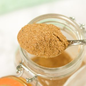 spoon of Piri Piri - Mozambique Spice Blend