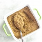 Bowl of Best BBQ Rub with spoon