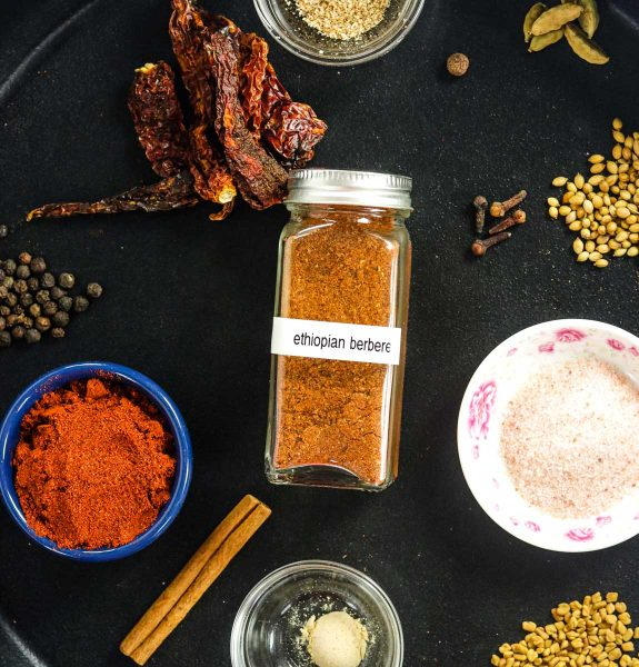 spices for Ethiopian Berbere