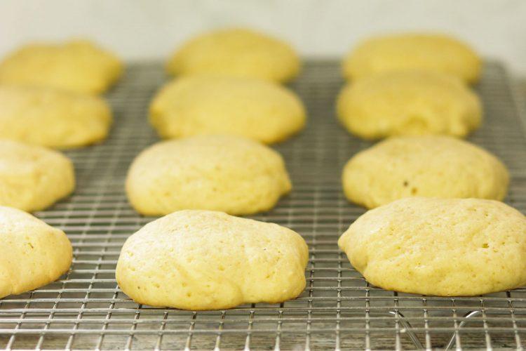 cookies on rack