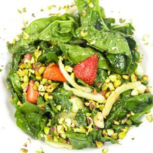 bowl of Strawberry Fennel Salad