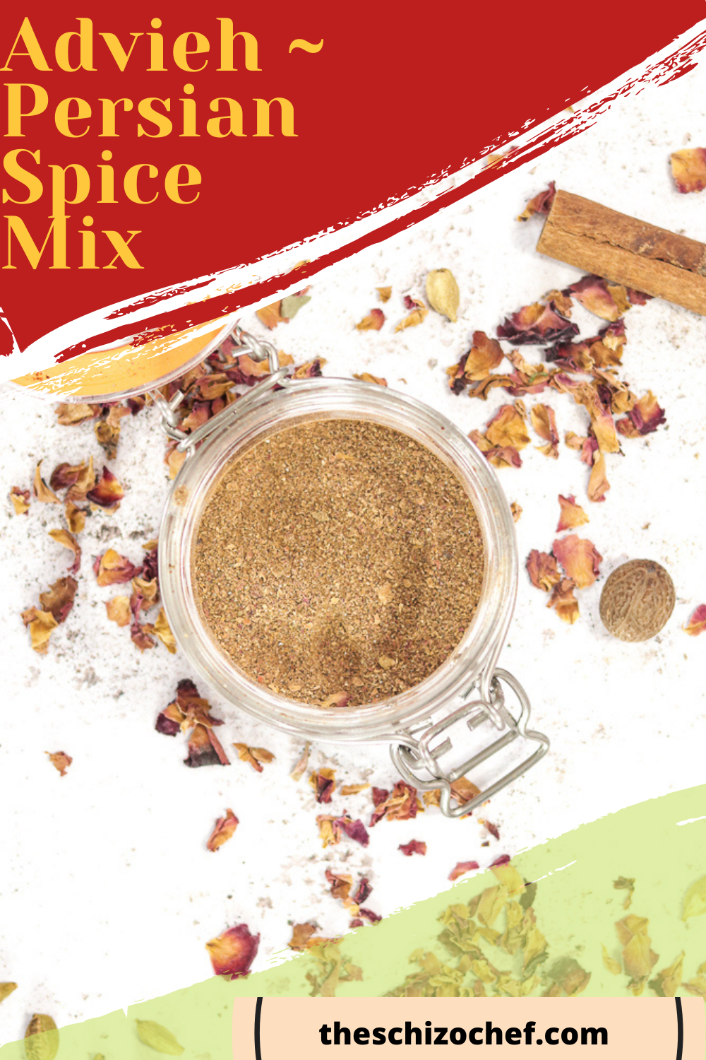 spices in jar with text