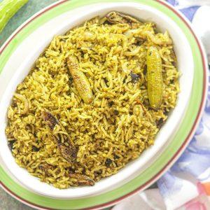 bowl of Tindora rice