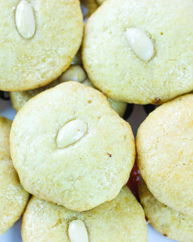 Sekerpare Turkish Semolina Cookies