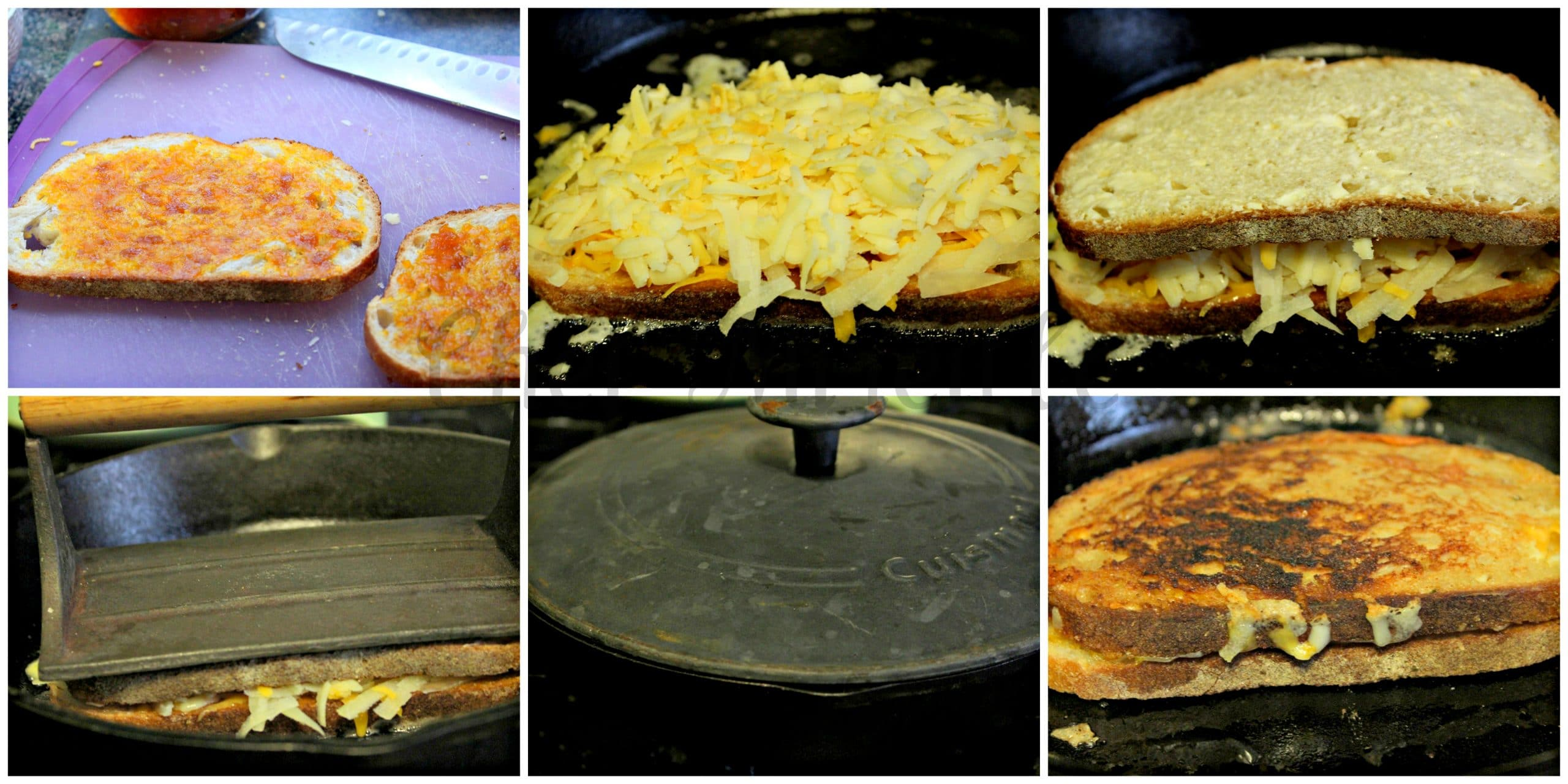 How to make the best grilled Cheese sandwich.
