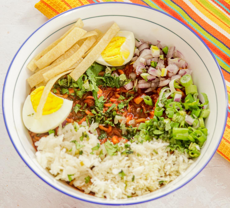 bowl of Birria Ramen