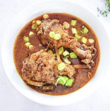 Haitian Poulet Sauce