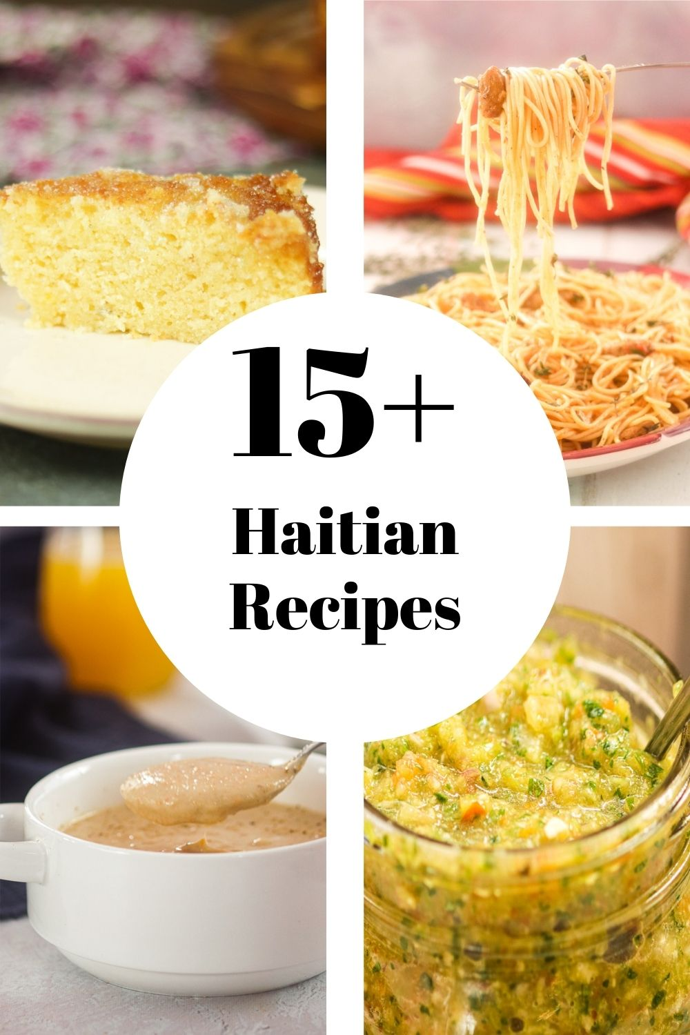 4 Haitian Recipes with text