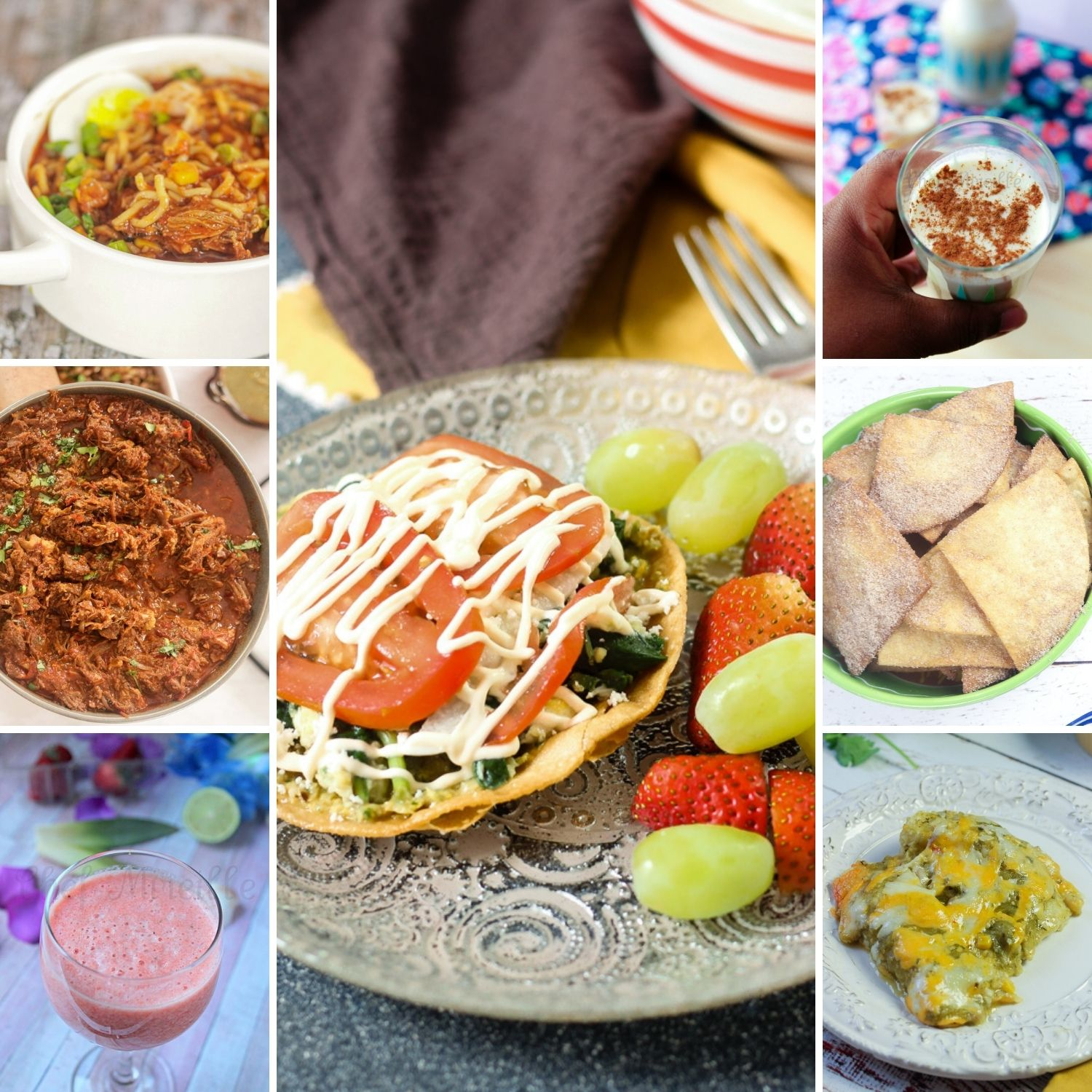 a collection of Mexican Recipes
