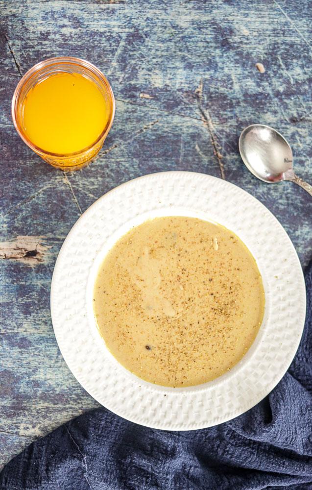 Haitian Porridge Breakfast