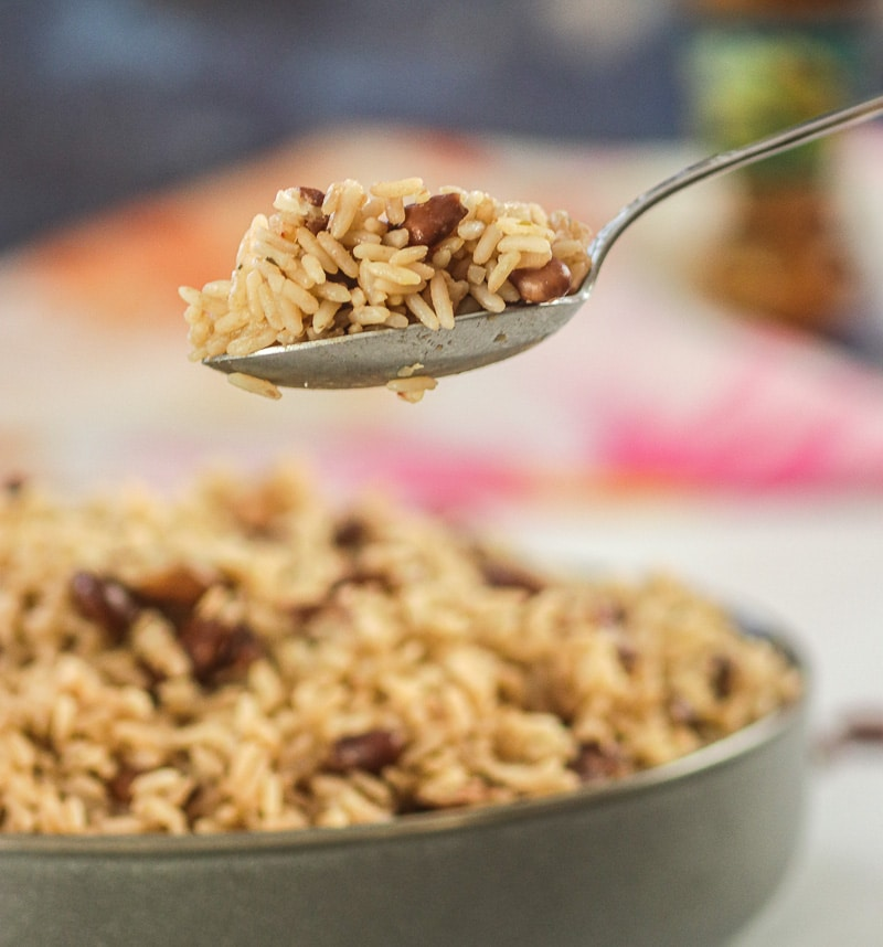 Haitian Red Beans and Rice