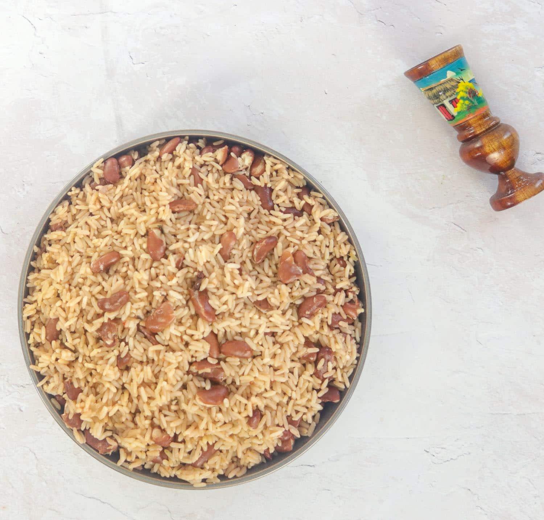 Haitian Red Beans and Rice -Diri Kole Ak Pwa