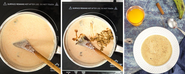 how to make Haitian plantain porridge