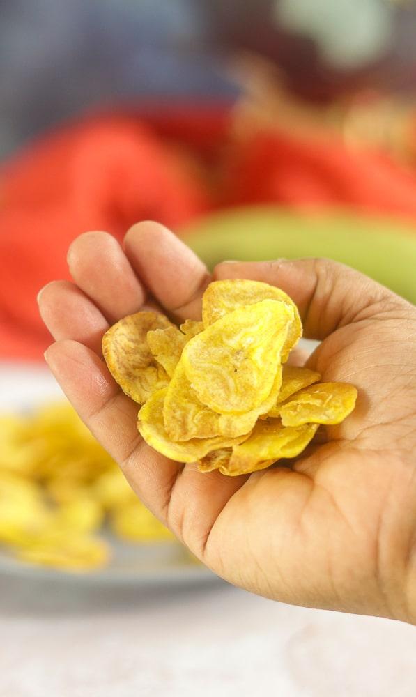 Kerala Banana Chips Recipe in the Air Fryer