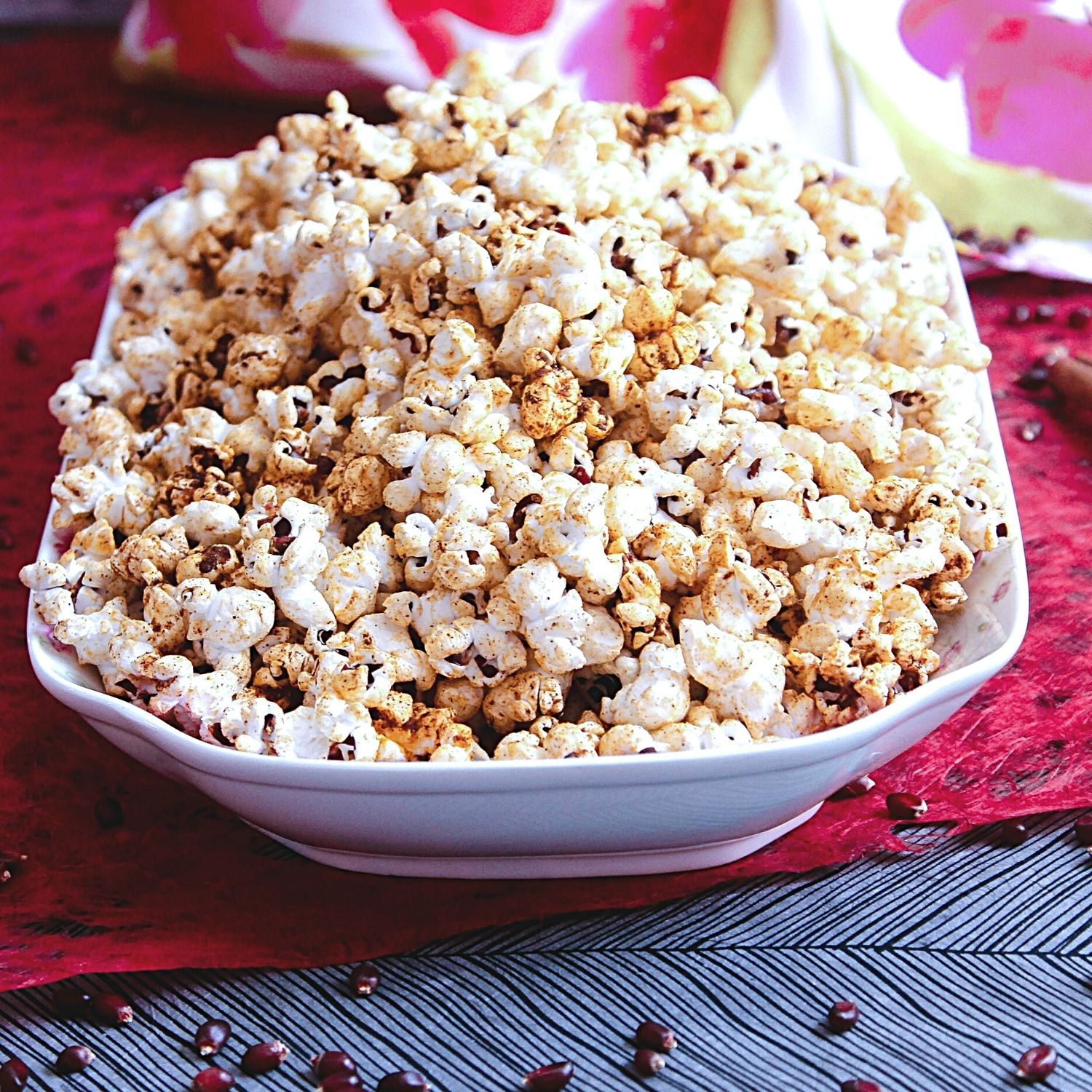 Best Homemade Popcorn with Sweet and Salty Popcorn Topping