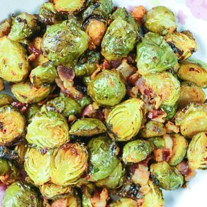 Roasted Brussel Sprouts with Harissa