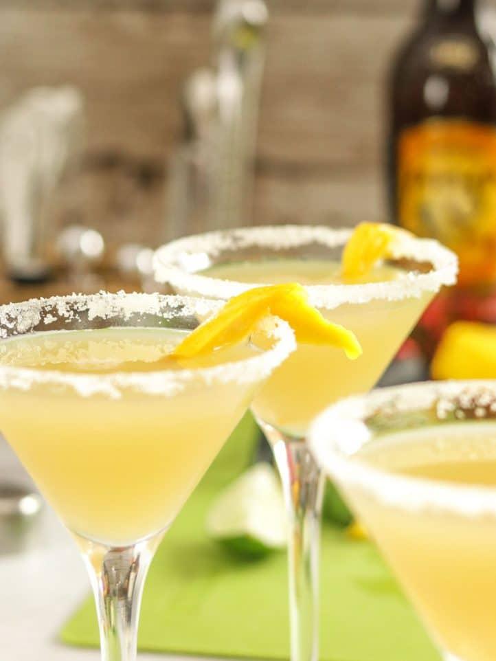 Rum Punch Cocktail - Popular Haitian Drinks