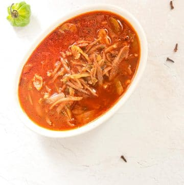 Haitian Sauce for Rice