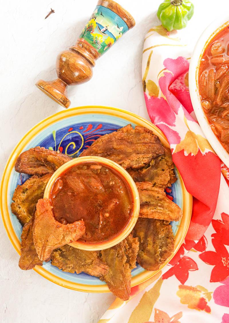 Haitian Sauce ti Malice - Creole Sauce for Rice or Chicken