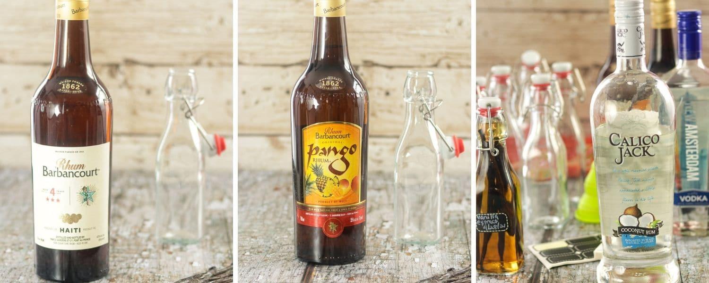 making Haitian Vanilla with Rum, Rhum Barbancourt, Pango Rhum Barbancourt or Coconut Rum