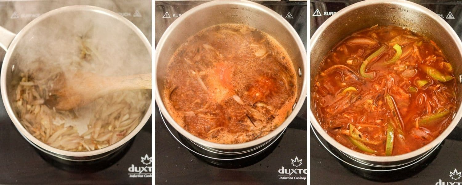 How to make Haitian Red Sauce, Stewing Sauce, Hot Sauce