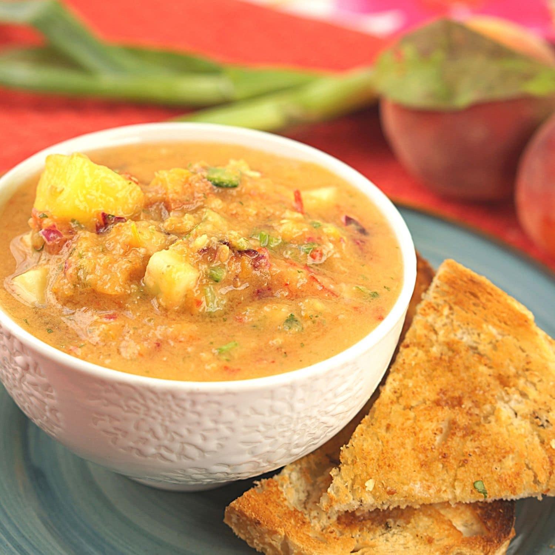 Cold Spanish Soup - Fruit Gazpacho Recipe