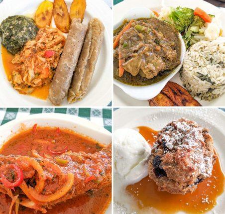 Antigua Food from Hemingway's Restaurant