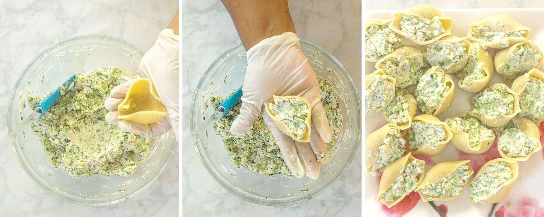 How to make Vegetarian Stuffed Shells