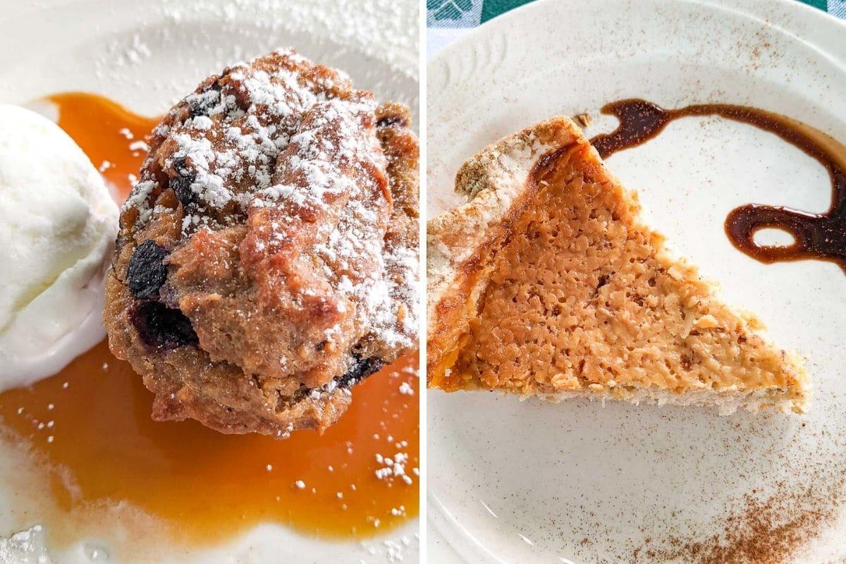 Desserts from Hemingway's Caribbean Cafe in Antigua #antiguatravel #antiguarestaurants