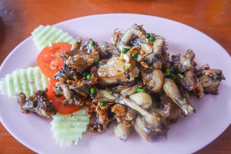 Frog Legs - Breakfast in Thailand