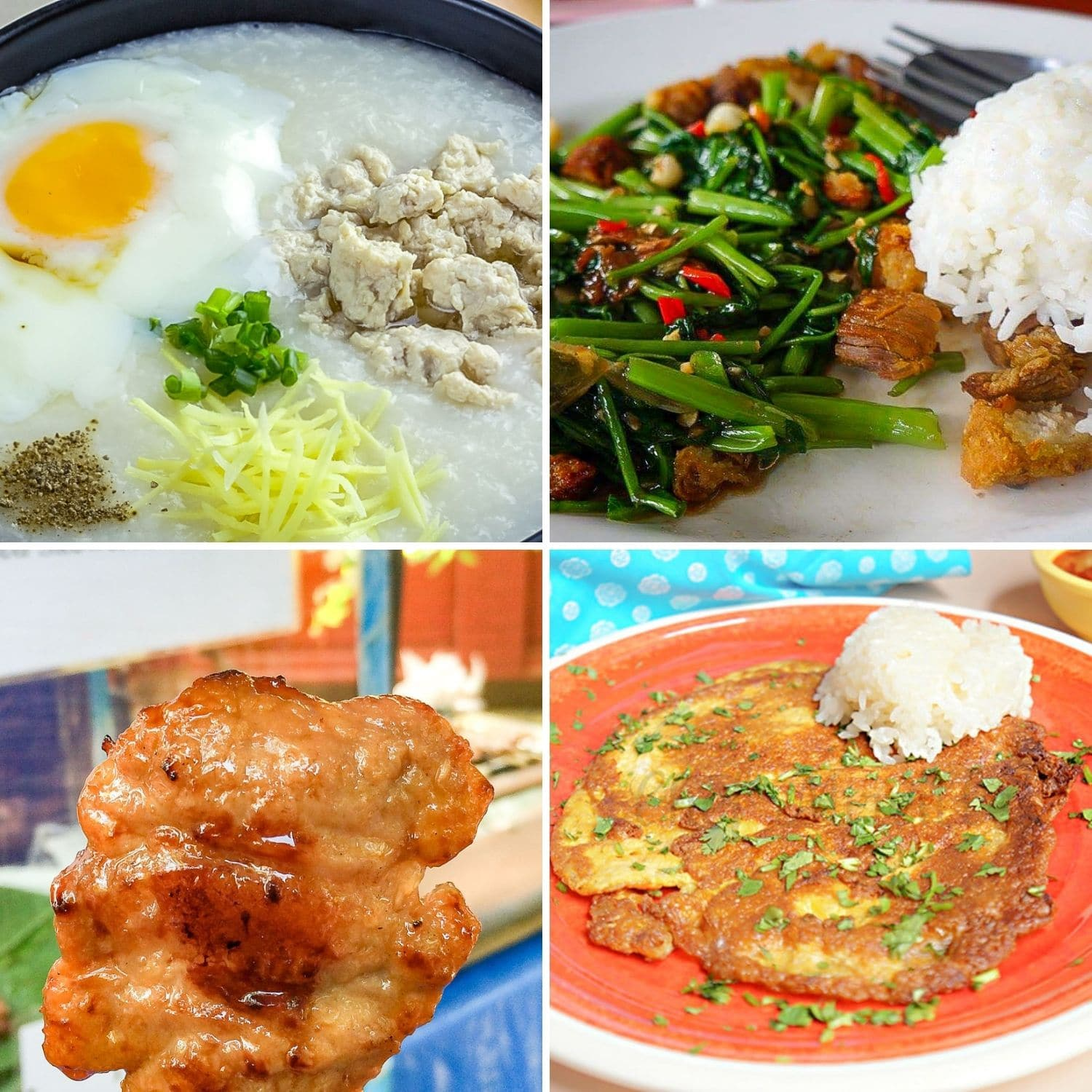 Top 5 Thai Breakfast Dishes
