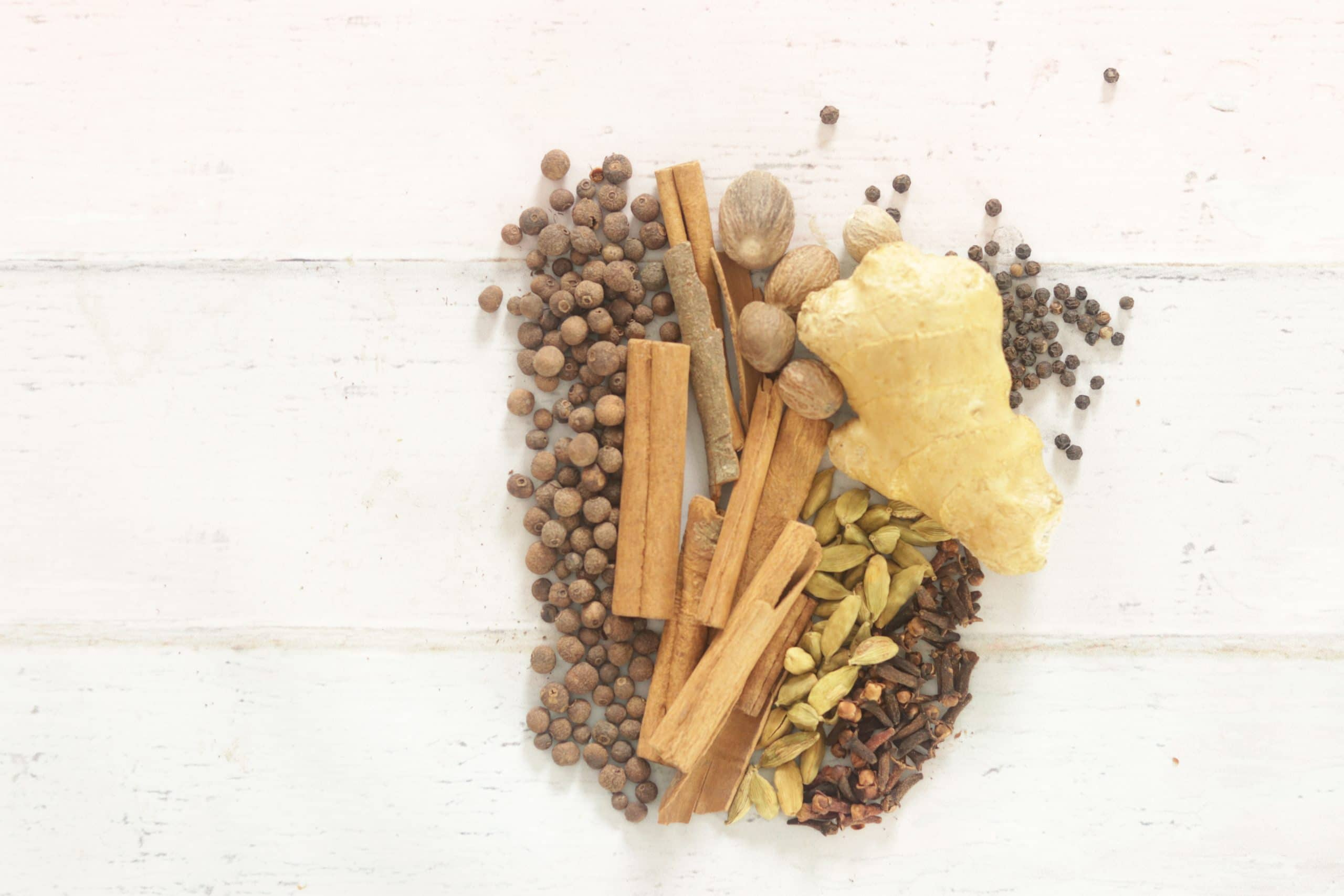Pumpkin Pie Spice Ingredients - whole spices