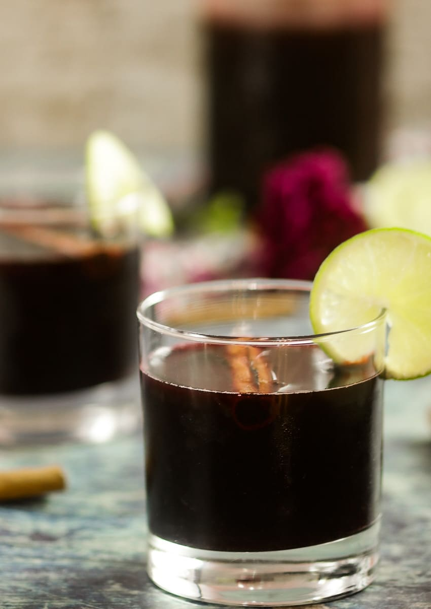 Chicha Morada - How to make Peruvian Purple Corn Drink #drinks #cocktails