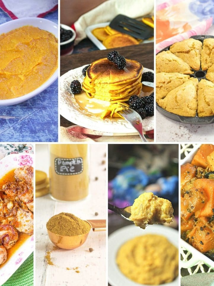 Pumpkin Recipes Collage