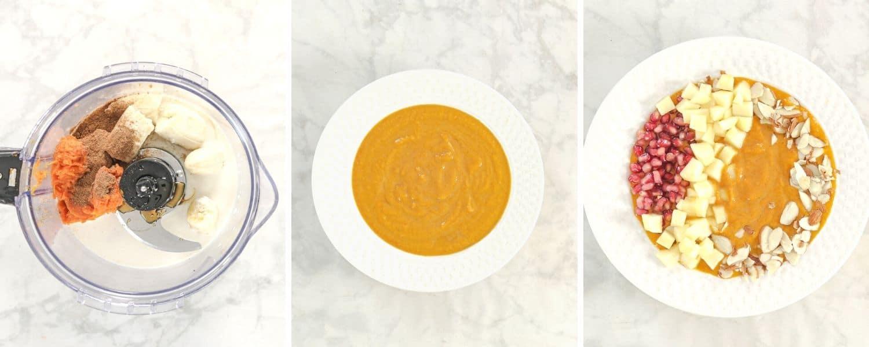 How to make a Pumpkin Smoothie Bowl